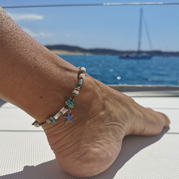 Bracelet de cheville ajustable Saona Majabel