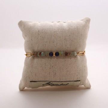 Bracelet chaîne et pierre fine Isis - Majabel