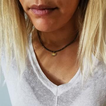 Collier perles Hélios - Majabel